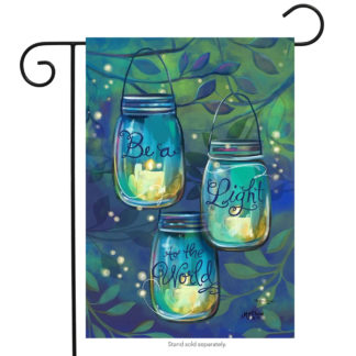 Be a Light Garden Flag - g00157