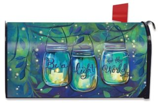 Be a Light Mailbox Cover -m00157