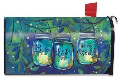 Be a Light Mailbox Cover -m00157