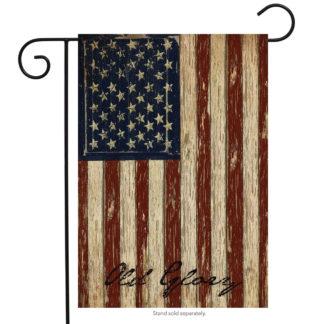 Old Glory Garden Flag -g00126