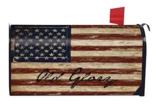 Old Glory Mailbox Cover -m00126