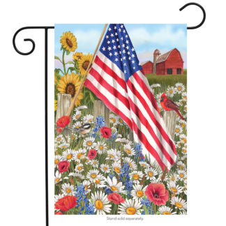 America the Beautiful Field Garden Flag - g00387