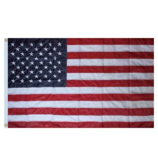 American Flag House Flag - h00018