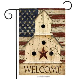 Americana Garden Flag-g00118