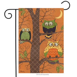 Autumn Owls Garden Flag - g00248