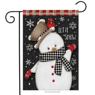 Celebrate Winter Garden Flag -g00531