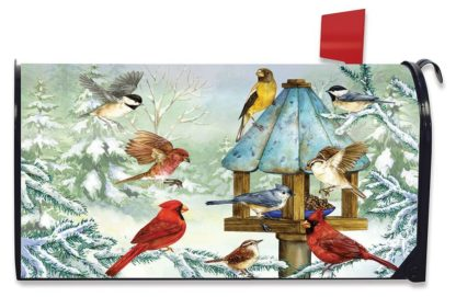 Cold Feet, Warm Hearts Oversize Mailbox Cover -om00730