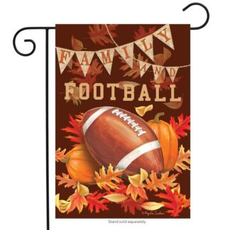 Family & Football Garden Flag -g00729
