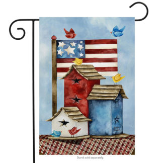 Freedom Birdhouses Garden Flag - g00363
