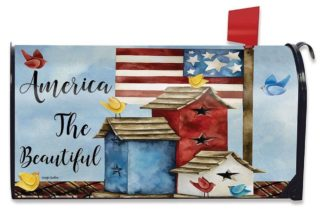 Freedom Birdhouses Mailbox Cover - m00363