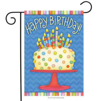 Happy Birthday Garden Flags - g00422