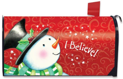 I Believe Mailbox Cover - m00233
