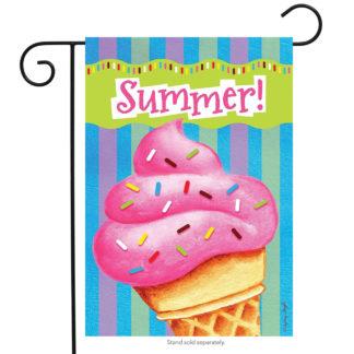 Ice Cream Delight Garden Flag - g00428
