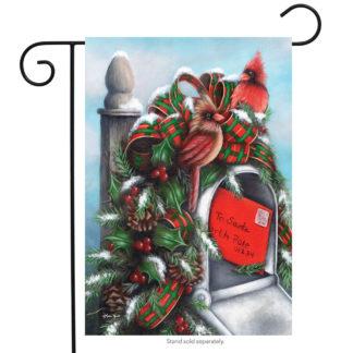 Letter to Santa Garden Flag - g00225
