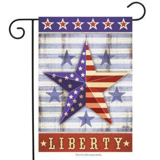 Liberty Star Garden Flag -g00444
