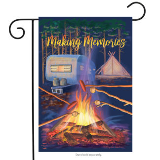 Making Memories Garden Flag - g00612
