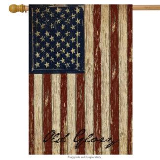 Old Glory House Flag -h00126
