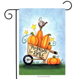 Pumpkins for Sale Garden Flag - g00262