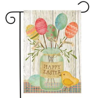 Spring Egg Bouquet Garden Flag -g00822