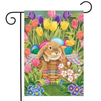 Spring Rabbit Garden Flag -g00799
