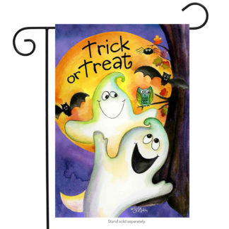 Trick or Treat Ghouls Garden Flag - g00508