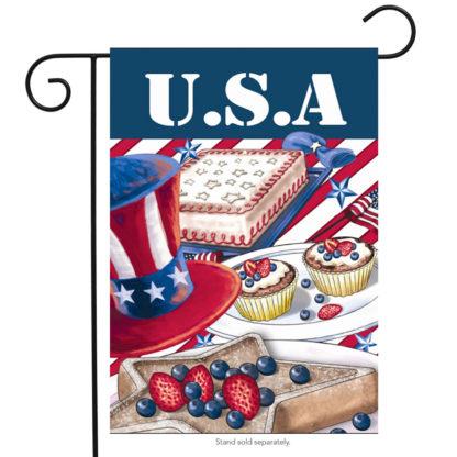 American Picnic Garden Flag - g00263