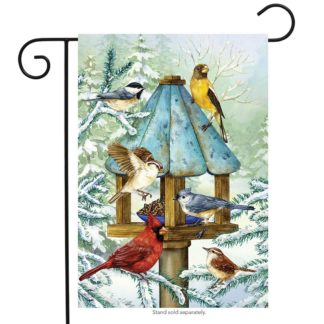 Cold Feet, Warm Hearts Garden Flag -g00730