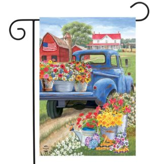 Day On The Farm Garden Flag -g00781