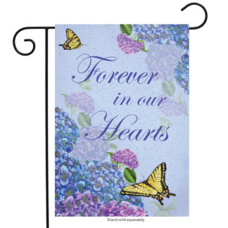 Forever In Our Hearts Garden Flag - g00736