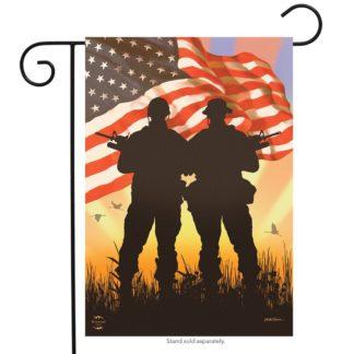 American Heroes Garden Flag - g00600
