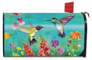 Hummingbird Greeting Mailbox Cover m00809